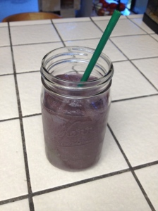 Slammin Sunrise Berry Blast Monster Smoothie
